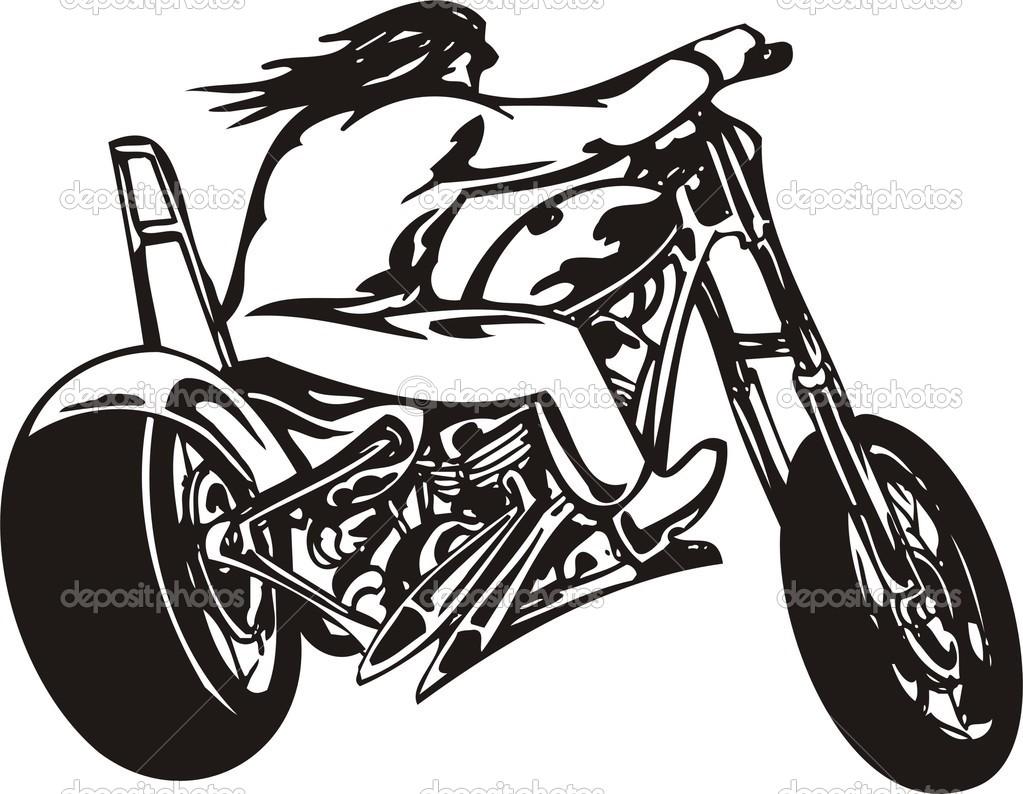 Harley Motorcycle Clipart Har - Harley Davidson Clipart