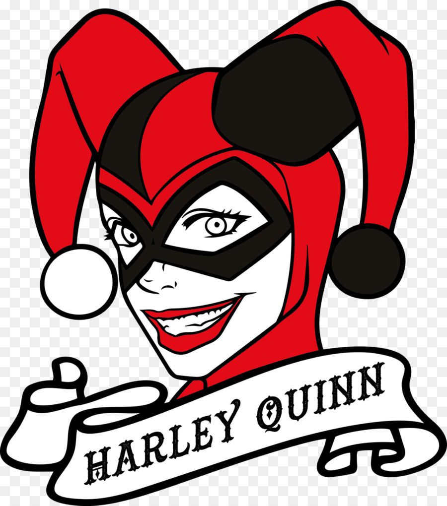 Harley Quinn Joker Clip Art - Harley Qui-Harley Quinn Joker Clip art - harley quinn-12
