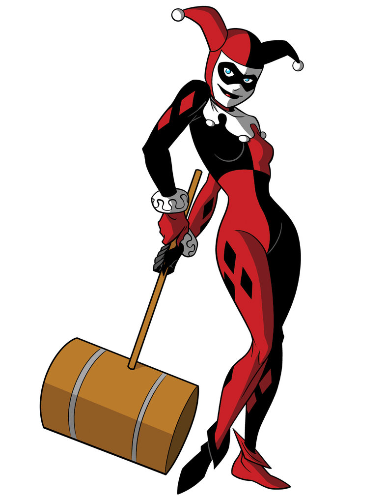 How To Draw DC Villains - Harley Quinn by TimLevins ClipartLook.com