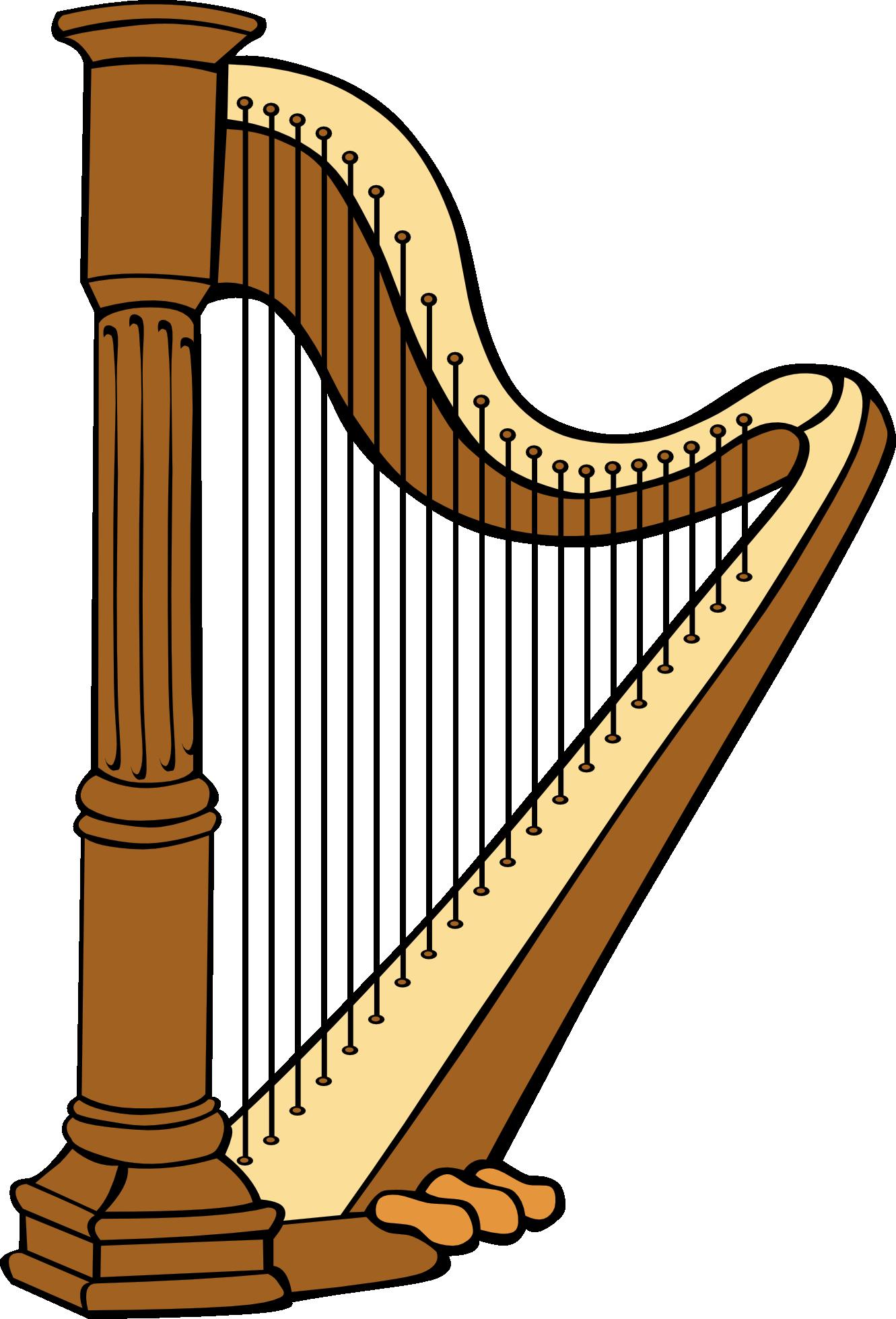 Harp clip art