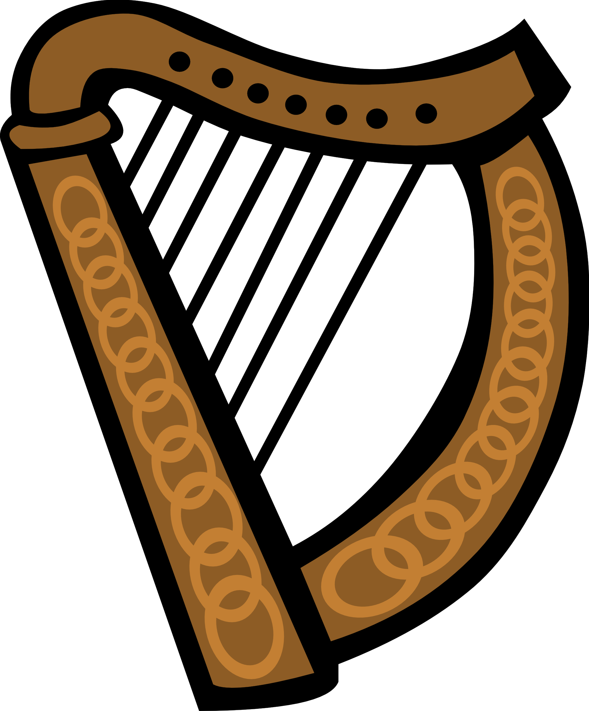 Harp Clipart 3-Harp clipart 3-9