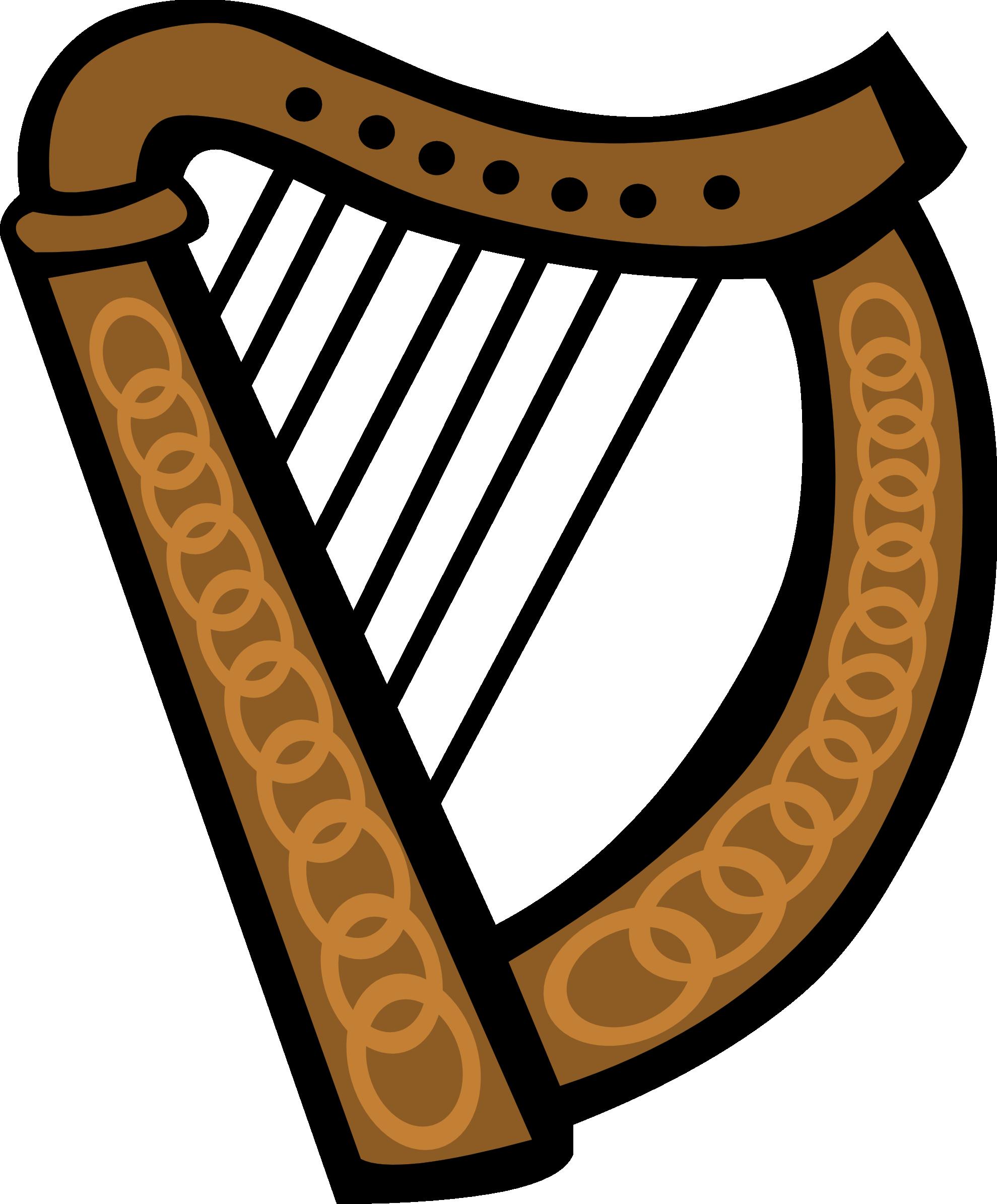 Harp clipart 3