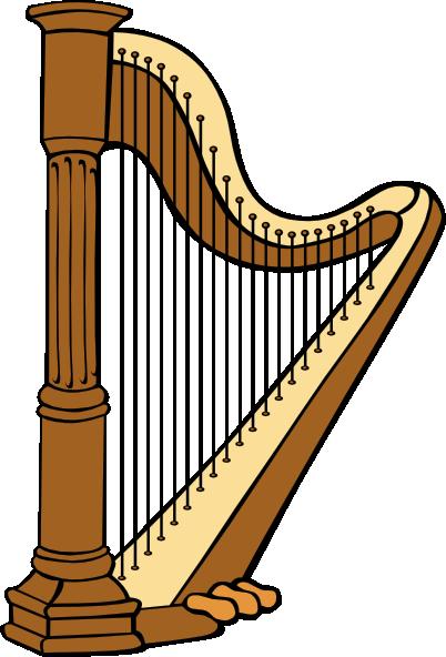 . ClipartLook.com free vector Classical Harp clip art