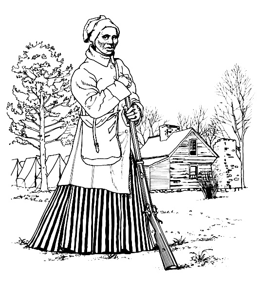 ... Harriet Tubman Coloring Page ...-... Harriet Tubman Coloring Page ...-11
