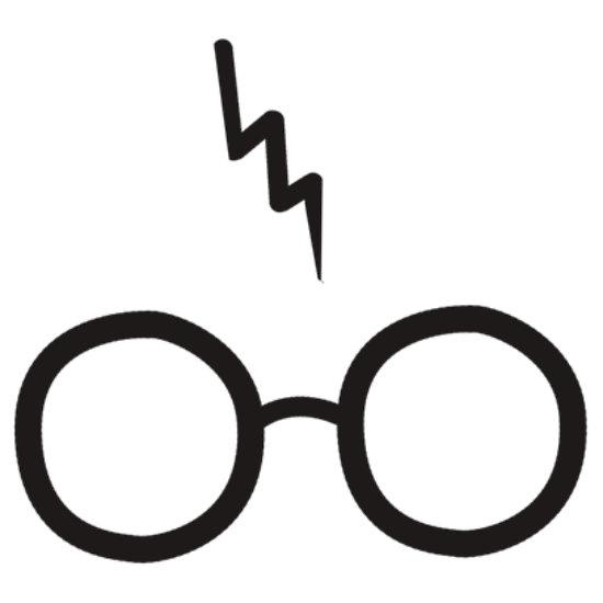 Harry potter glasses clipart
