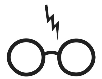 Harry Potter - Glasses Tattoo .