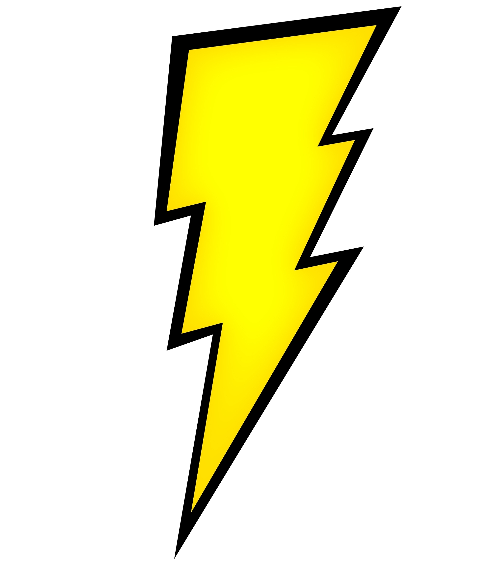Harry potter lightning bolt free clipart to