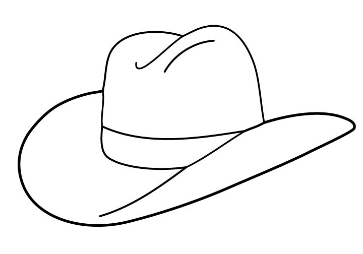 Hat Clipart Black And White-hat clipart black and white-15