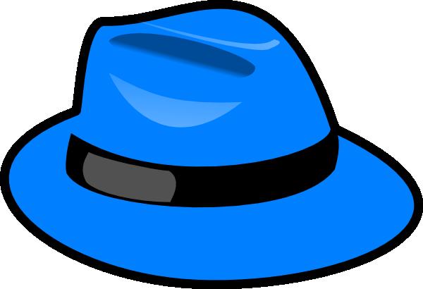 Blue Hat Clipart #1
