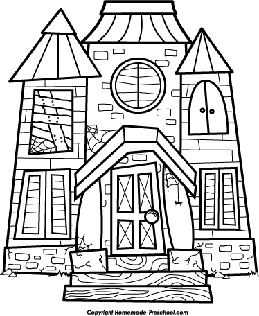 Haunted House Clip Art Black And White C-Haunted House Clip Art Black And White Clipart Panda Free Clipart-8