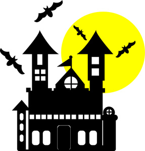 Haunted House Clip Art - Clipart Haunted House
