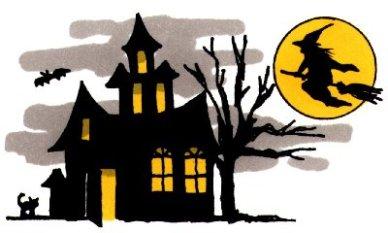 Haunted House Clip Art-Haunted House Clip Art-7