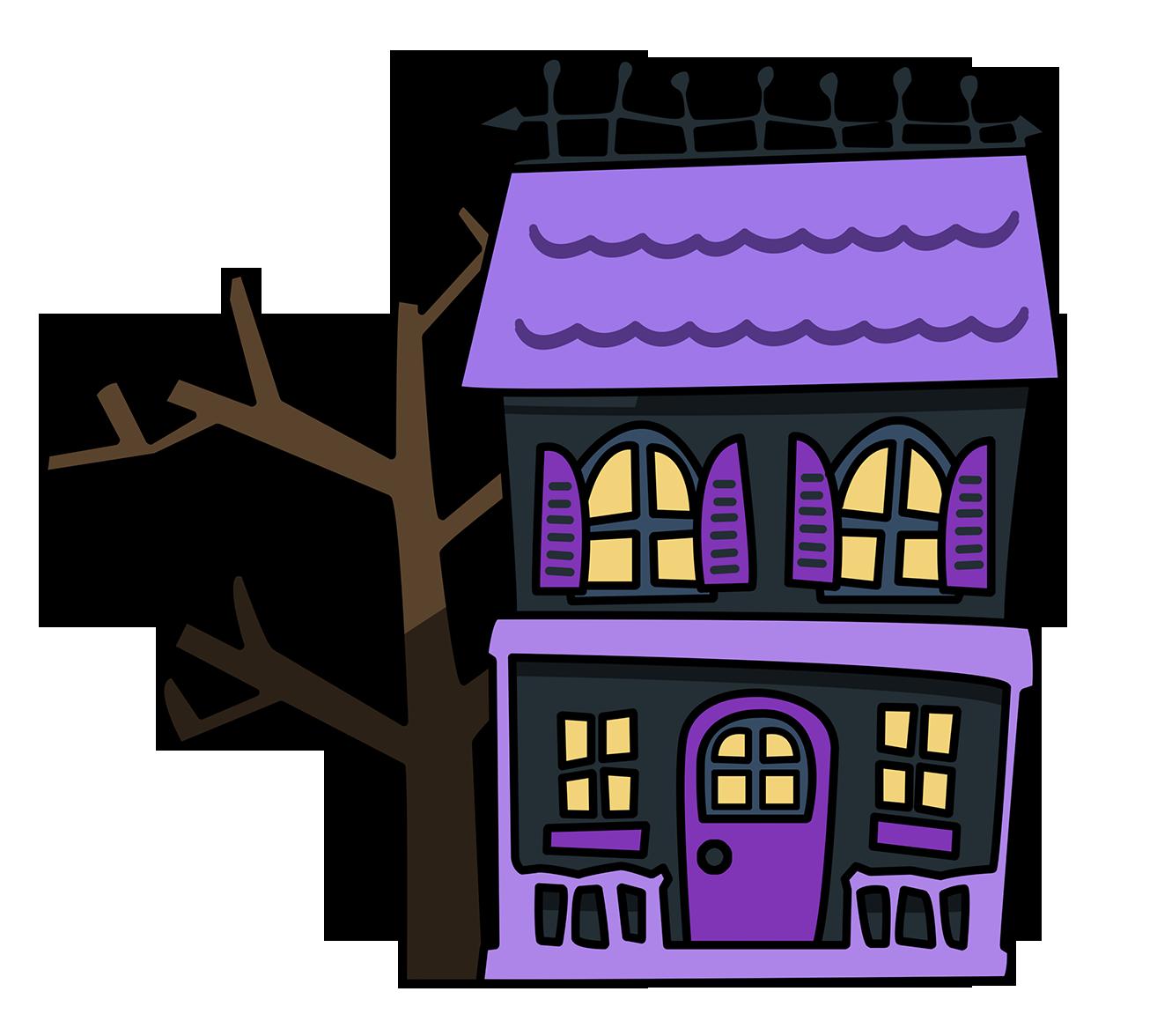 haunted house clipart-haunted house clipart-15