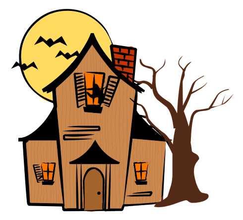 Haunted House Color-Haunted House Color-8
