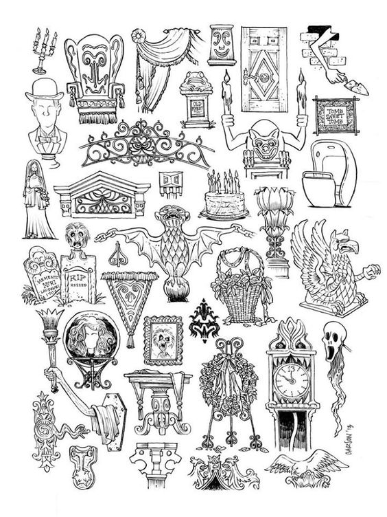 Haunted Mansion Clip Art