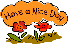 Have A Nice Day Clip Art