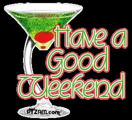Have Good Weekend Clipart - Free Clipart