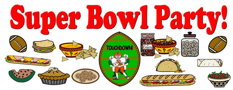 Having A Super Bowl Party .-having a Super Bowl Party .-7
