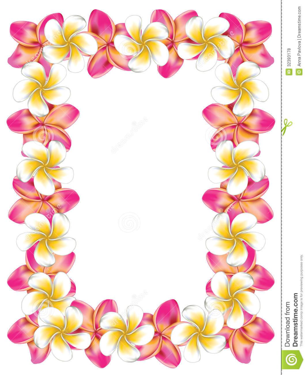 hawaiian clip art borders