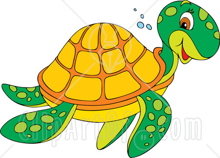 hawaiian sea turtle clipart