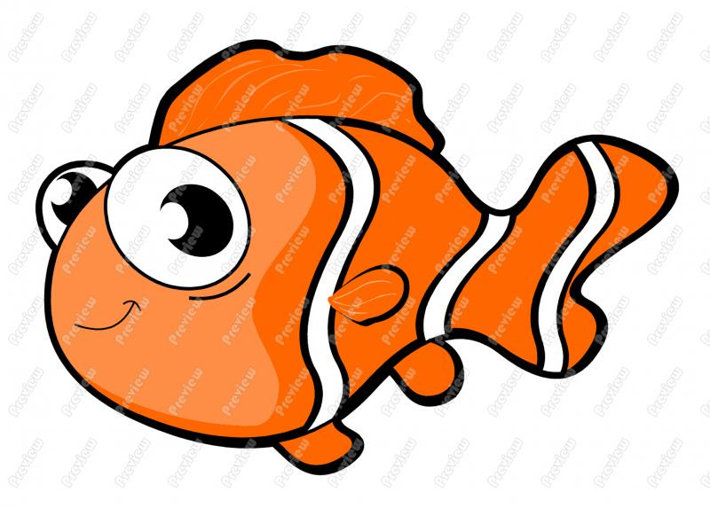 Hawaiian Fish Clipart