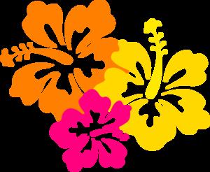 Hawaiian Flower Clip Art Borders Clipart Panda Free
