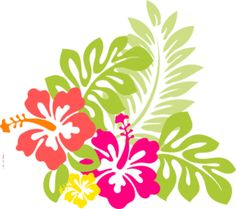 Hawaiian Flower Clip Art ..