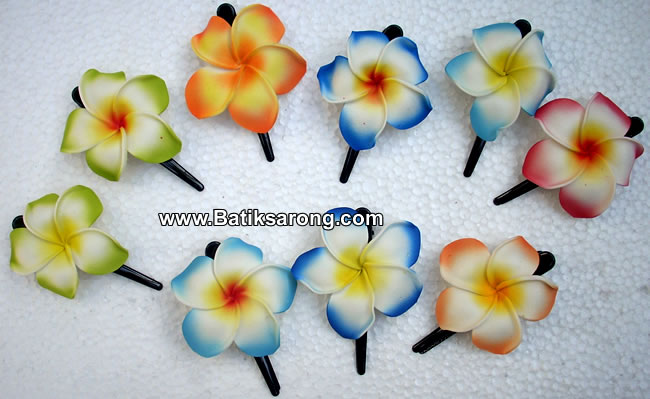 Hawaiian Flower Hair Clip-hawaiian flower hair clip-11