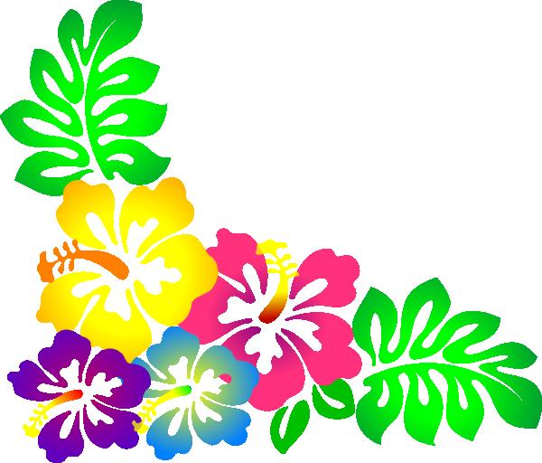 Hawaiian luau tiki flowers clipart clipart kid. Free hawaiian clipart clipart