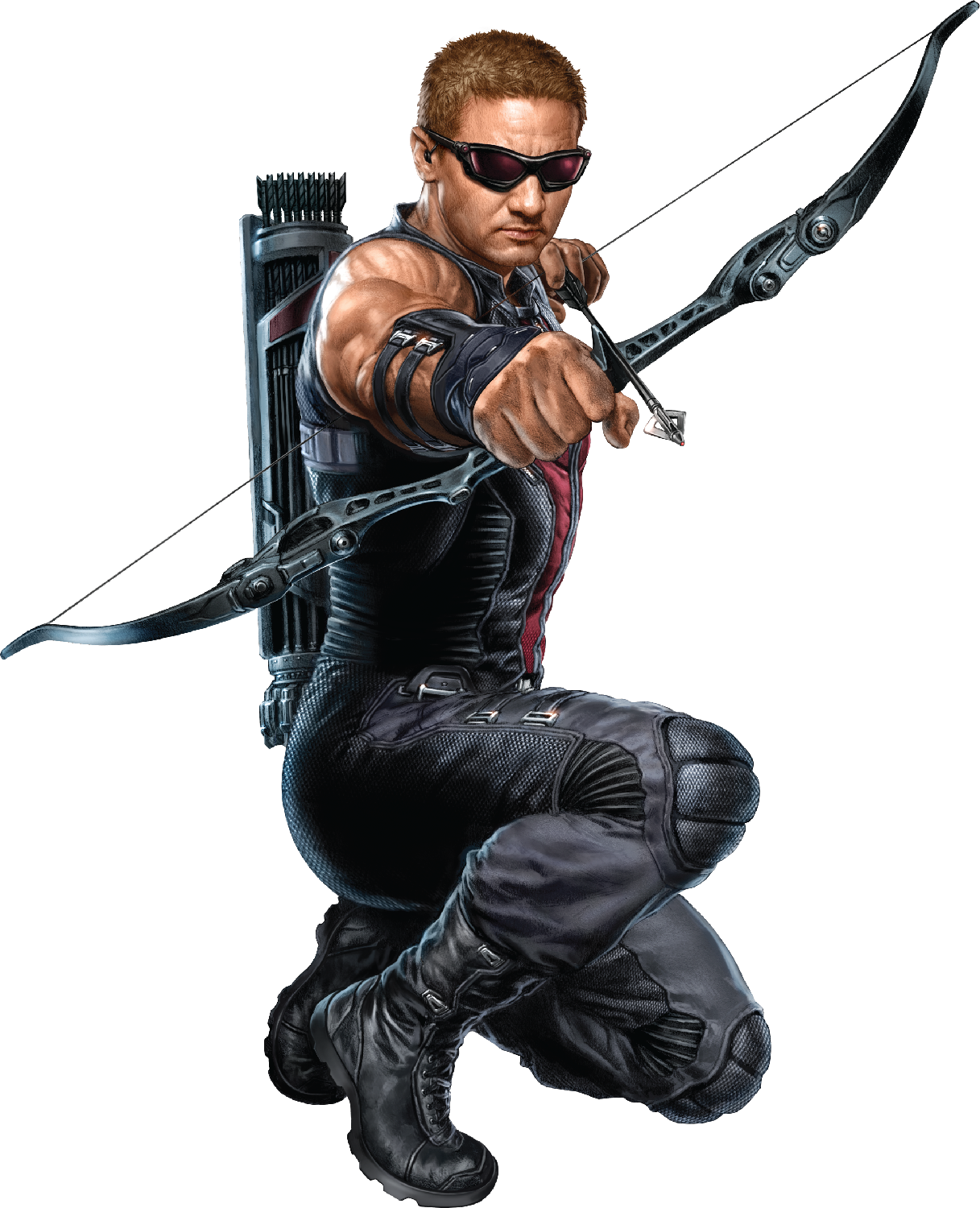 Download PNG image - Hawkeye Clipart 594