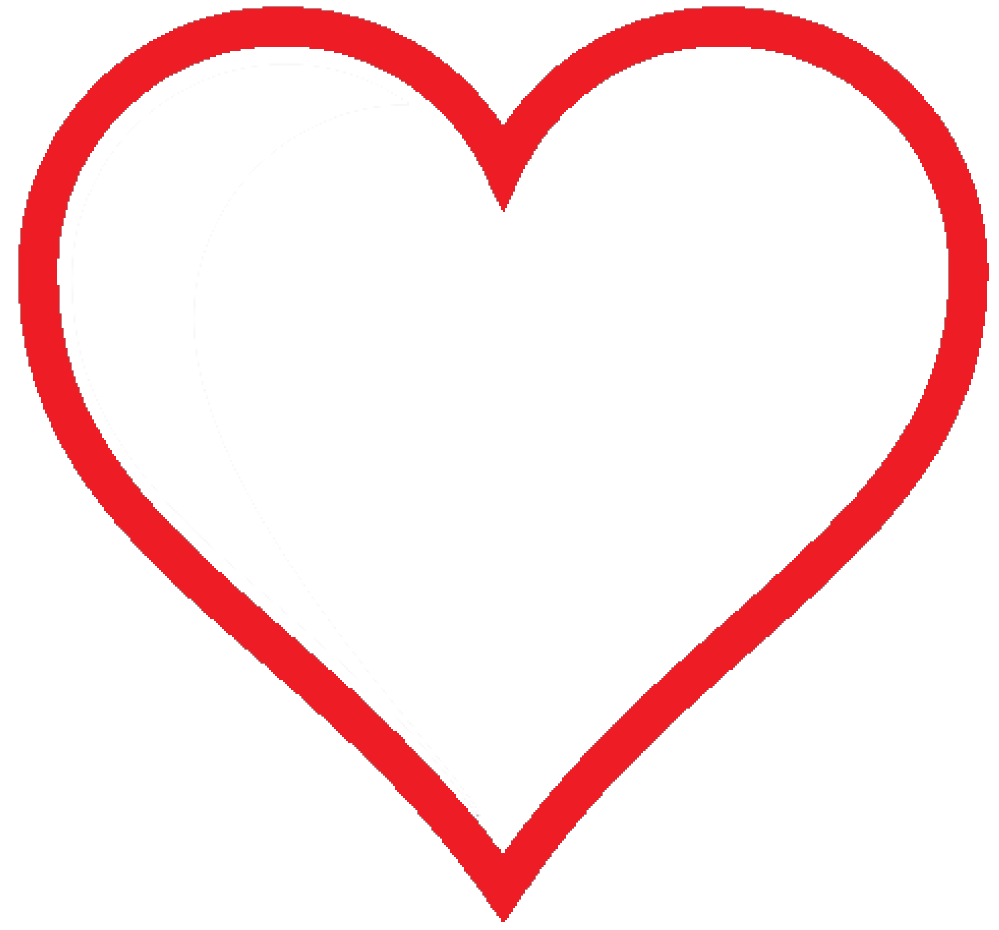 ... Hd clipart of love heart