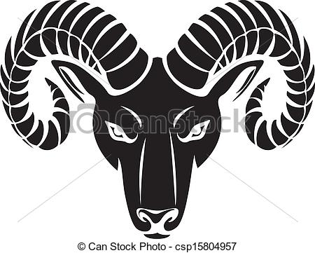 ... head of the ram (ram head - Ram Head Clip Art