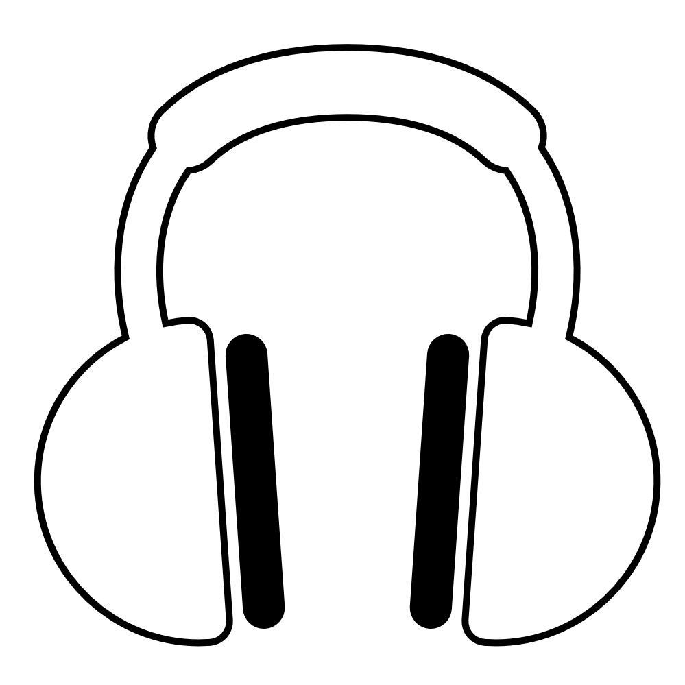 Headphone Art - Clipart Library-Headphone Art - Clipart library-4
