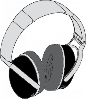 Headphones 1 - Headphone Clip Art