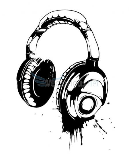 Headphones Clip Art Free. Vector Headpho-Headphones Clip Art Free. Vector Headphone-7