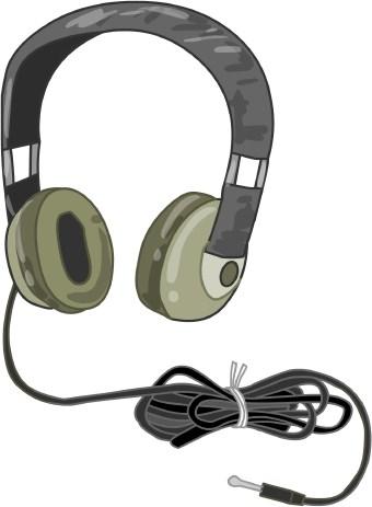 Headphones Clip Art