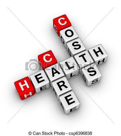 ... health care costs crossword