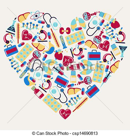 Health Care Icons In The Shape Of Heart -Health Care Icons In The Shape Of Heart Csp14690813 Search Clipart-9