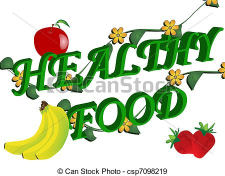 ... Healthy food - Abstract healthy food