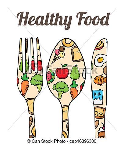 healthy food - csp16396300 - Healthy Food Clipart