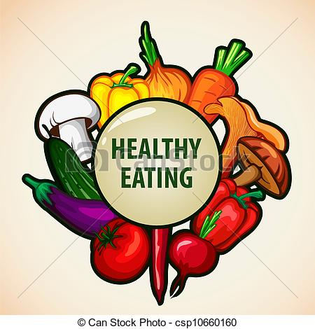 healthy food menu background  - Healthy Food Clipart