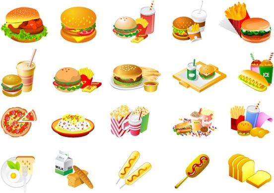 westernstyle fast food clip art