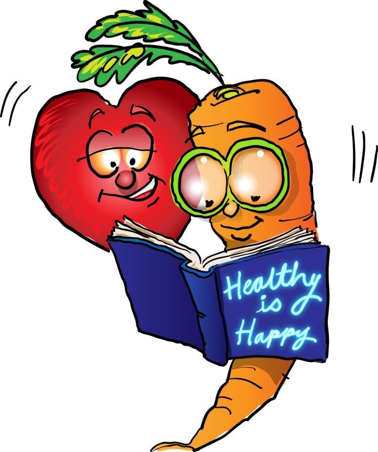 Healthy food .