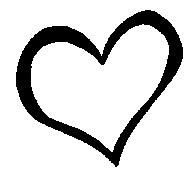 heart outline clip art-heart outline clip art-3