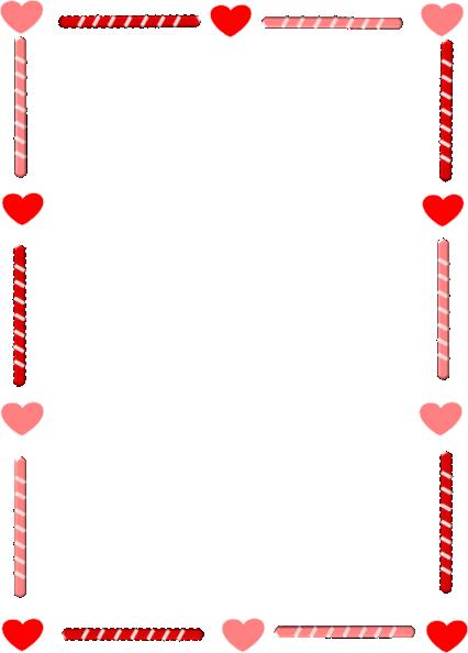 Heart And Candy Border Clip Art At Clker-Heart And Candy Border Clip Art At Clker Com Vector Clip Art Online-9