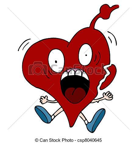 ... Heart Attack Cartoon Character - An -... Heart Attack Cartoon Character - An image of a heart attack... Heart  Attack Cartoon Character Clipart ...-4
