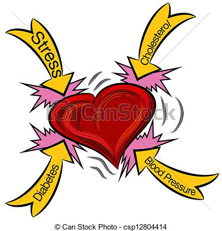 ... Heart Attack Causes - An Image Of A -... Heart Attack Causes - An image of a heart attack.-6