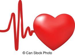 Heart Beats, Isolated On ..