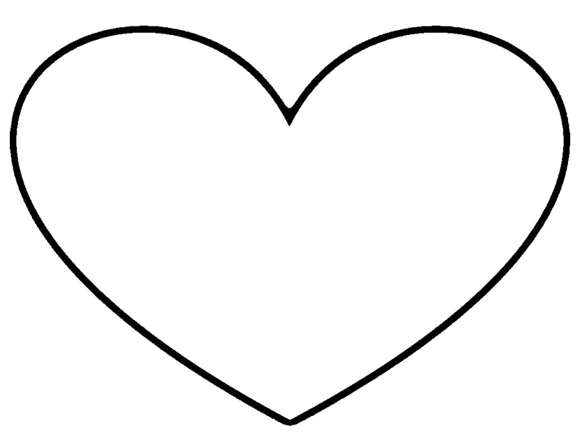 Heart Black And White Black And White He-Heart black and white black and white heart clipart 2-11