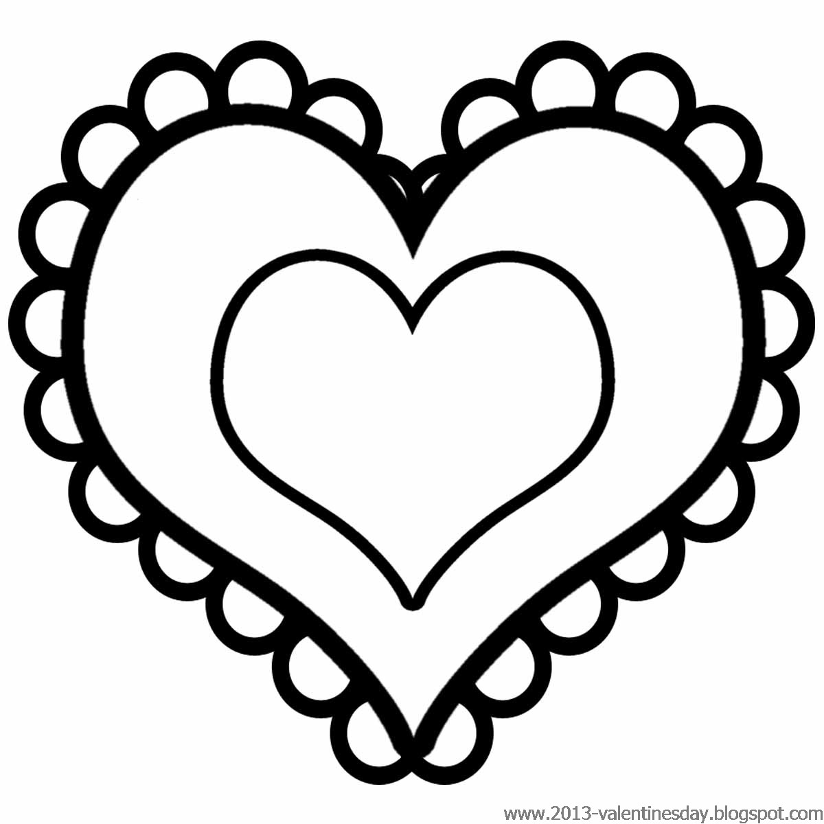 Heart Black And White Heart Black And Wh-Heart black and white heart black and white clipart-13